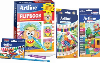 Artline Activity Jr Art Set