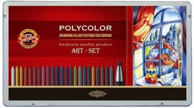 Koh-I-Noor Hardtmuth Polycolor Art Set