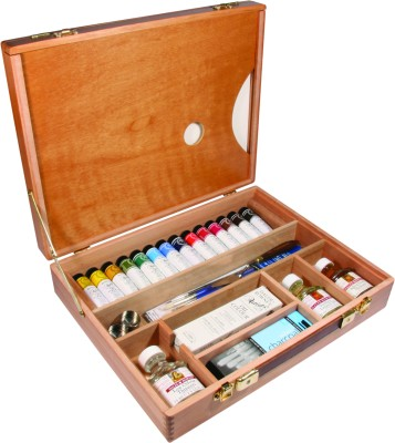 Daler-Rowney Oil Color Deluxe Wooden Box