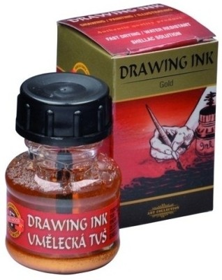 Koh-I-Noor 141763 Drawing Ink (Gold)