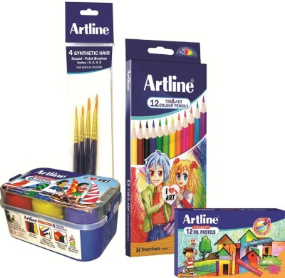 Artline Art Creation Art Colouring Set