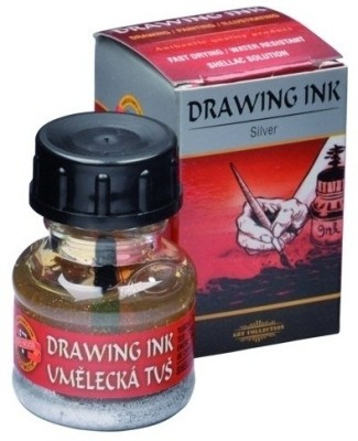 Koh-I-Noor 141762 Drawing Ink (Silver)