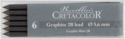 Cretacolor Graphite Leads 2B Graphite Lead