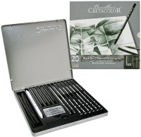 Cretacolor Black Box Art Set