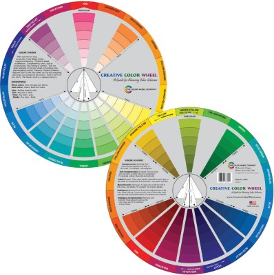 Color Wheel 3389 Color Mixing Guide