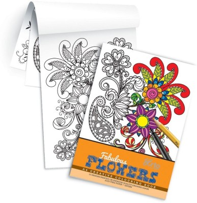 Campap Arto Fabulous Flowers Art