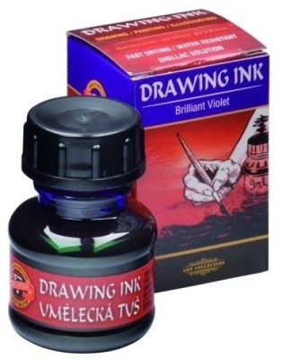 Koh-I-Noor 141757 Drawing Ink (Brilliant Violet)