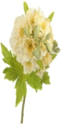 Flowers Forever Single Larkspur Yellow Assorted Artificial Flower(Pack of 1)