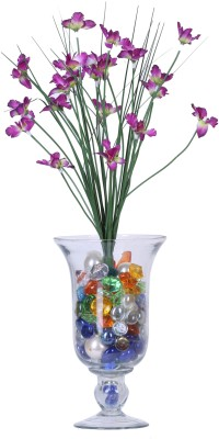 Evergreen Purple Orchids Artificial Flower