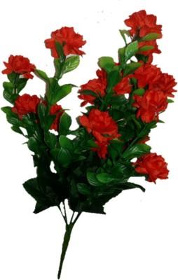 sn flower Flower bunch small Red Assorted Artificial Flower