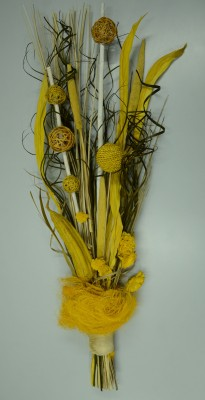 Exotic Creations Lemony Soft Dried Bouquet Multicolor Assorted Artificial Flower