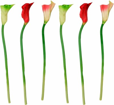 Enfin Homes Red Tulips Artificial Flower