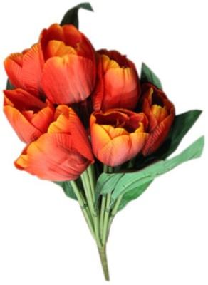 Aamore Decor Multicolor Tulips Artificial Flower