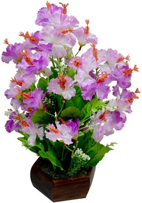 The Fancy Mart Flowerplant-FP-169 Multicolor Wild Flower Artificial Flower  with Pot