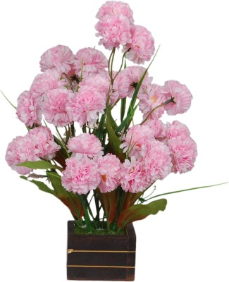 Loxia 4014C Pink Carnations Artificial Flower  with Pot