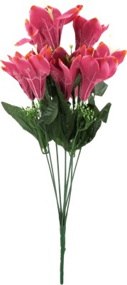 Kusal Calalily 9Heads Pink Assorted Artificial Flower