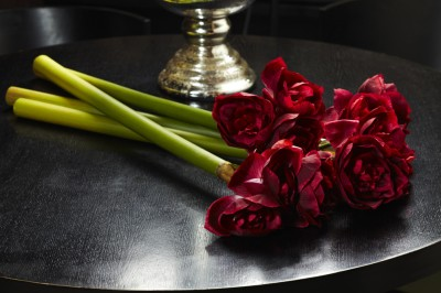 Foyer Red Lily Artificial Flower