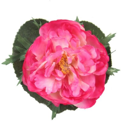Premsons Pink Peony Artificial Flower(4 inch, Pack of 3)