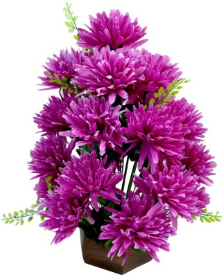 The Fancy Mart Flowerplant-FP-163 Multicolor Wild Flower Artificial Flower  with Pot