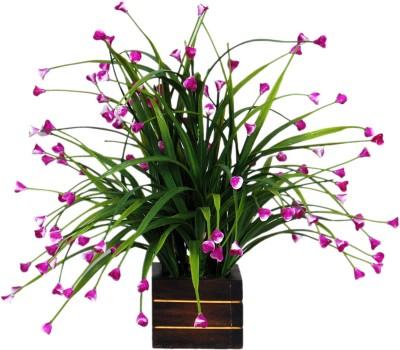 Loxia 4012D Purple Wild Flower Artificial Flower  with Pot