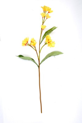Deziworkz Yellow Assorted Artificial Flower