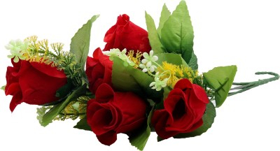 Globalgifts Beautiful Red Rose Artificial Flower