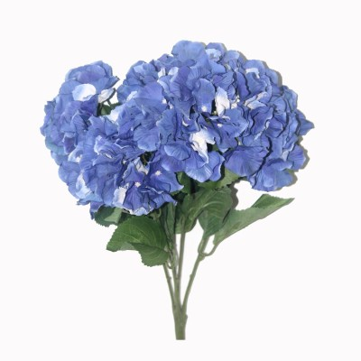 Bengal Blooms Hydrangea Bunch Blue Assorted Artificial Flower