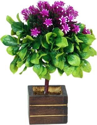 Loxia SMFA-3001B Purple Wild Flower Artificial Flower  with Pot
