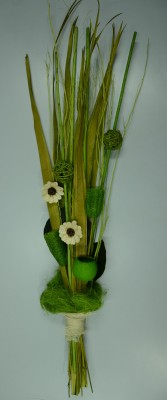 Exotic Creations Amazon Dew Dried Bouquet Multicolor Assorted Artificial Flower