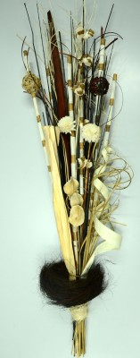 Exotic Creations Woodshelter Span Dried Bouquet Multicolor Assorted Artificial Flower