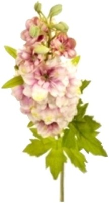 Flowers Forever Single Larkspur Pink Assorted Artificial Flower(Pack of 1)