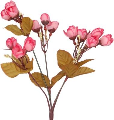 Loxia GP/1007C Pink, Multicolor Rose Artificial Flower