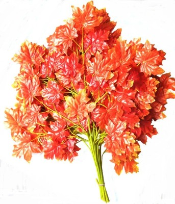 ACE FLOWERS Orange Assorted Artificial Flower(29 inch, Pack of 12)