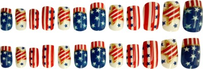 Nimble House Nail-Art-Type-14 multicolor(Pack of 24)