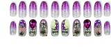 Shrih Flexible Artificial Nails Multicol...