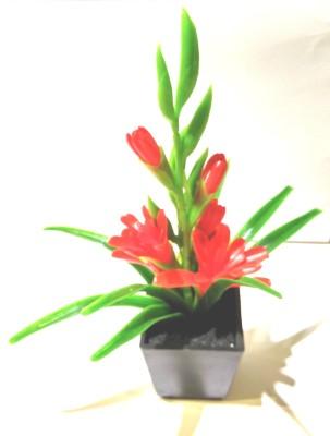 Bengal Blooms Bonsai Artificial Plant with Pot