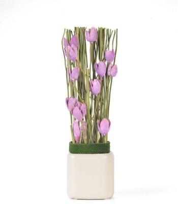 @home Flower Arrangement Artificial Plant  with Pot