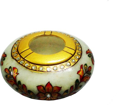 SR Crafts Multicolor Marble Ashtray(Pack of 1)