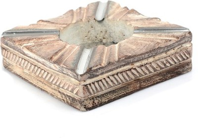 Stylemyway Brown Wooden Ashtray