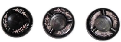 giftpointinc Black Ceramic Ashtray
