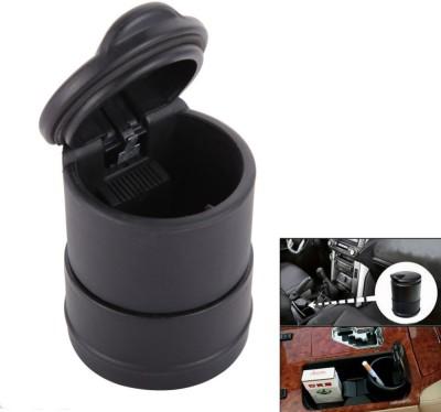 Maxum Black Plastic, Iron Ashtray(Pack of 1)