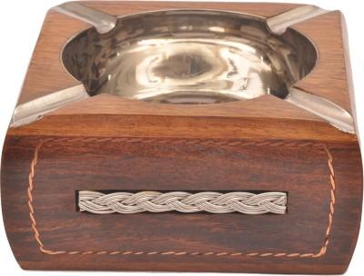 sparkle india Brown Wooden Ashtray