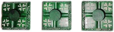 giftpointinc Green Ceramic Ashtray