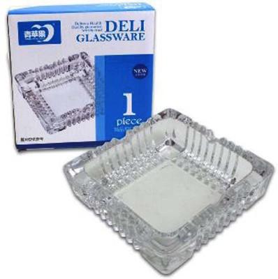 SDEEP Clear Glass Ashtray