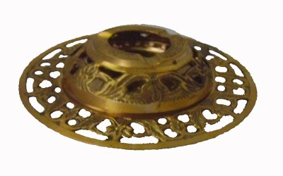 Homedesires Gold Brass Ashtray