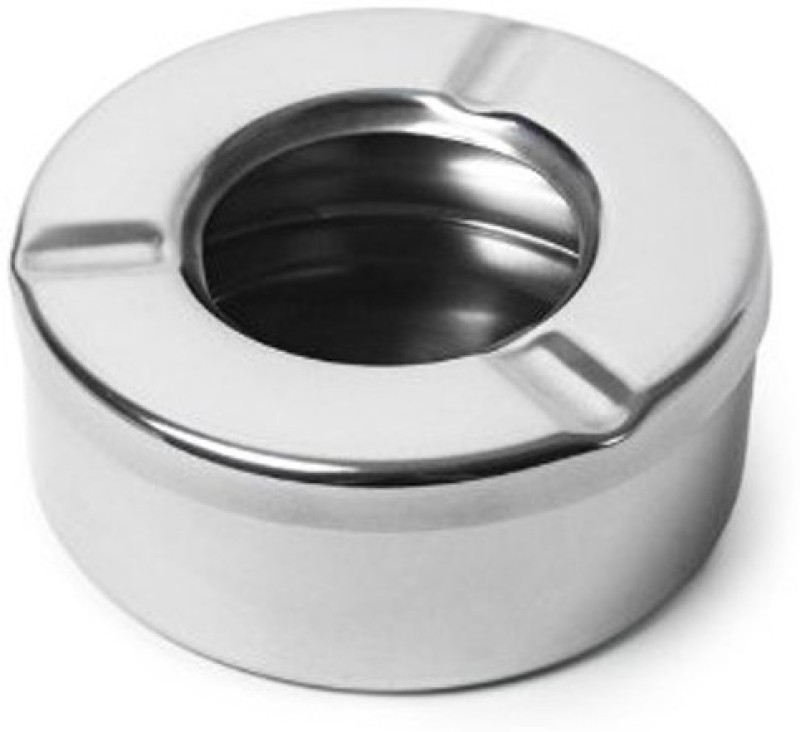 Dynore Steel Stainless Steel Ashtray(Pack of 1)