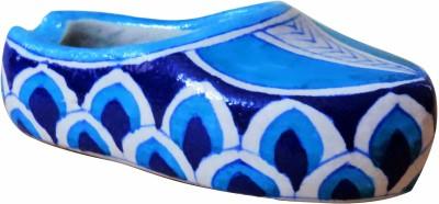 Aurea Blue Pottery Ashtray