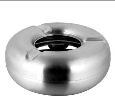 THW Silver Stainless Steel Ashtray