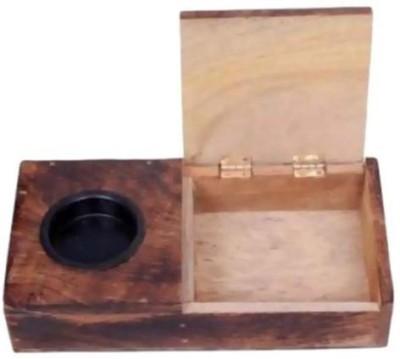 preshi Brown Wooden Ashtray