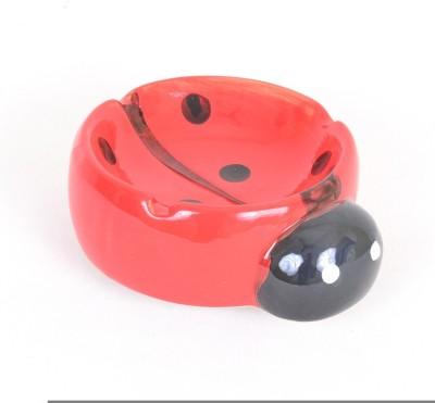 Scrafts Lady Bird 14 Red Ceramic Ashtray